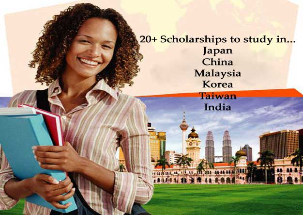 Top 20+ Scholarships in Asia for International Students