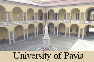 Scholarship in Italy University of Pavia