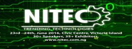 Interested in Technology for Catapulting Growth in Africa? Attend NITEC Conference Lagos 2017