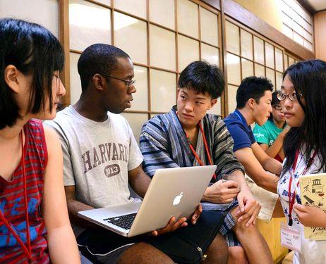 Studying at Japan University