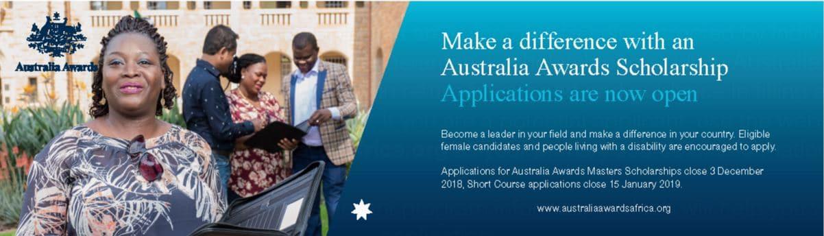 Australia Awards Scholarships (Masters and Short Courses