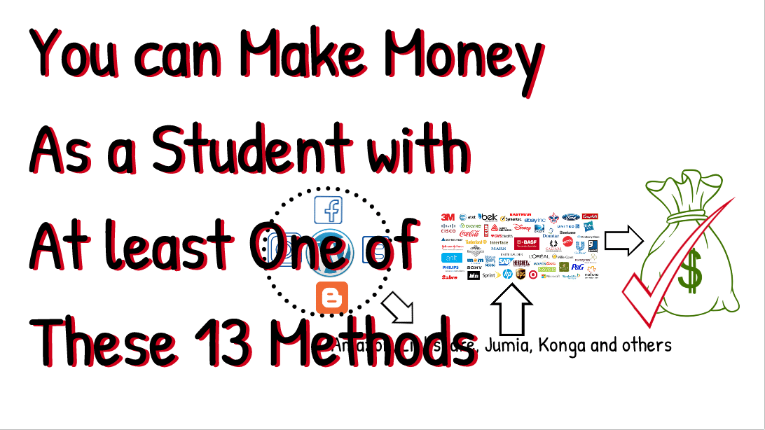 Make money online as a student