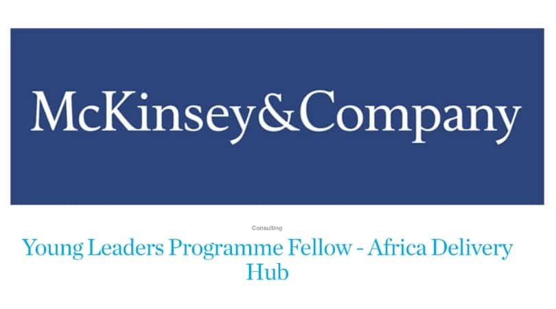 McKinsey&Company Young Leadership Program (YLP) 2021 for Young Africans