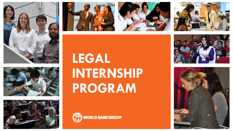 World Bank Legal Vice Presidency Internship Program 2022