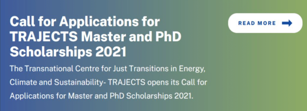 TRAJECTS Master and PhD Scholarships 2021 for Developing Countries